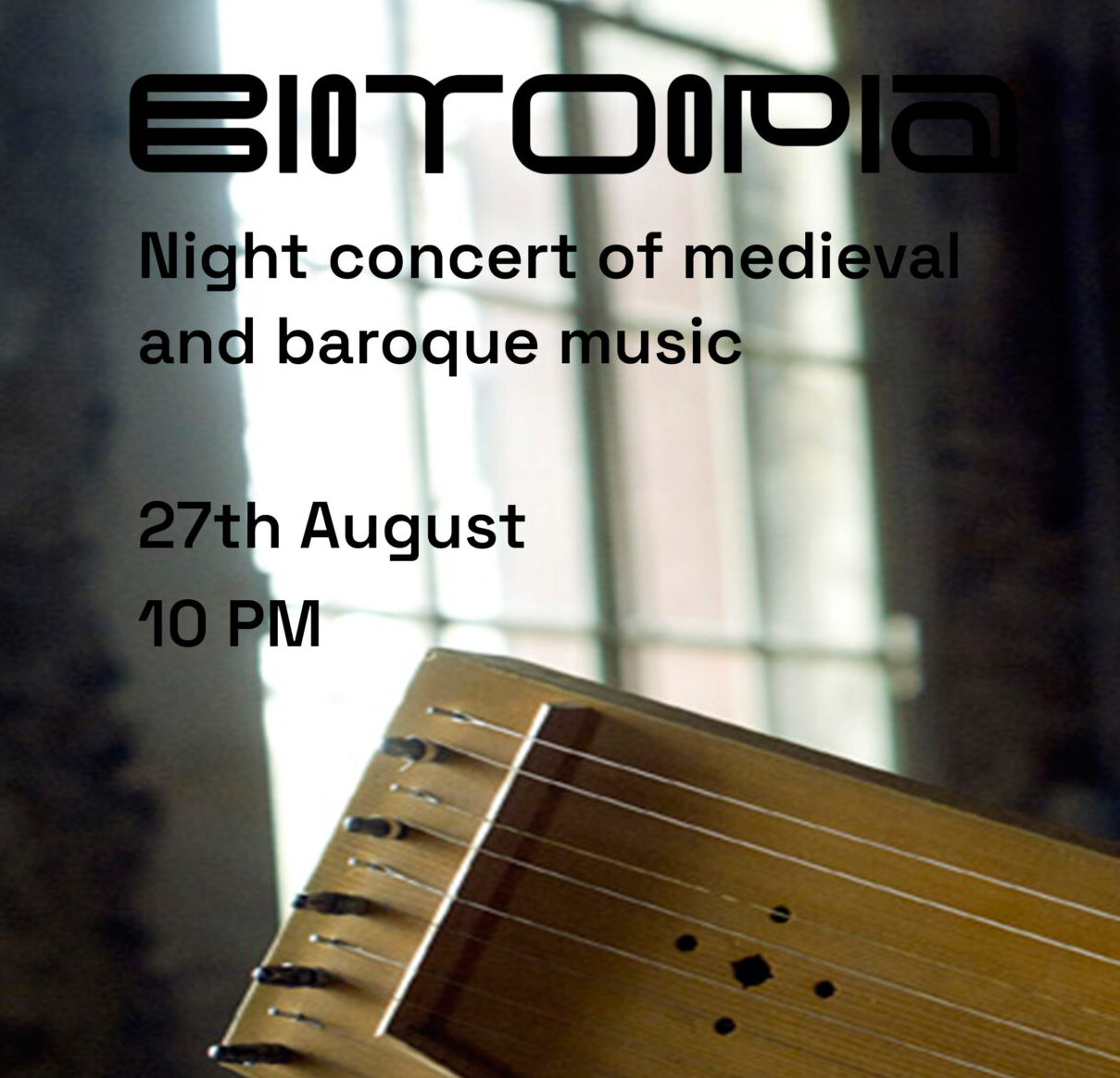 27.08 Night concert of medieval and baroque music